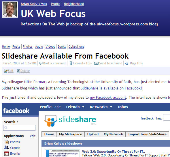 UK Web Focus blog on Vox