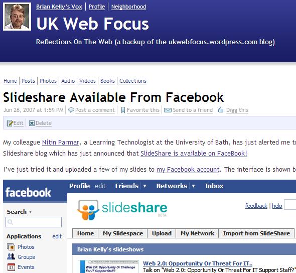 UK Web Focus blog on Vox