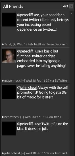 Twitter blackout