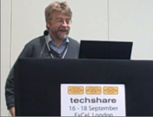 Video of talk at Techshare 2009