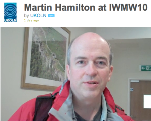 Interview with Martin Hamilton