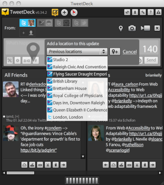 Tweetdeck on Apple Mac