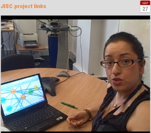 Links between JISC projects