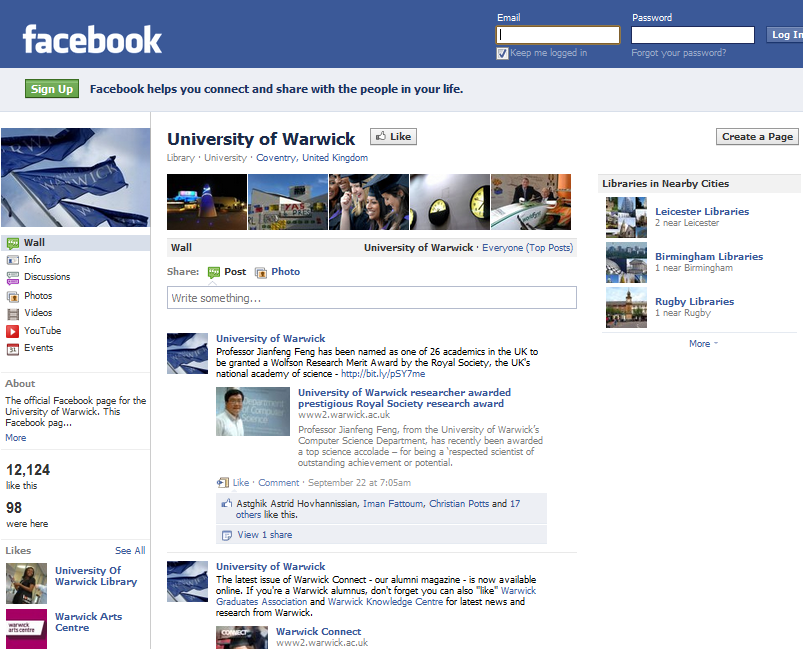 Is It Time To Ditch Facebook, When There's Half A Million Fans Across Russell Group Universities