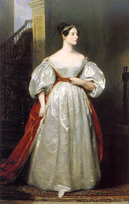 Ada Lovelace by Margaret Carpenter, 1836