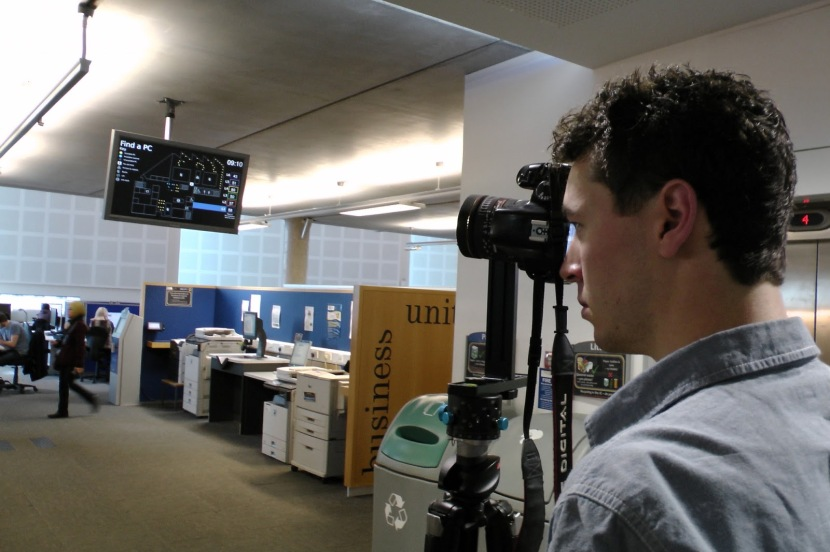 Shooting Google Streetview-in the Information Commons