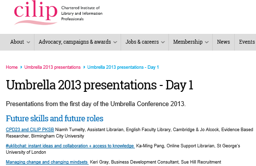 Umbrella conference