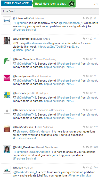 Twubs archive for '#fresherssurvival' tweets