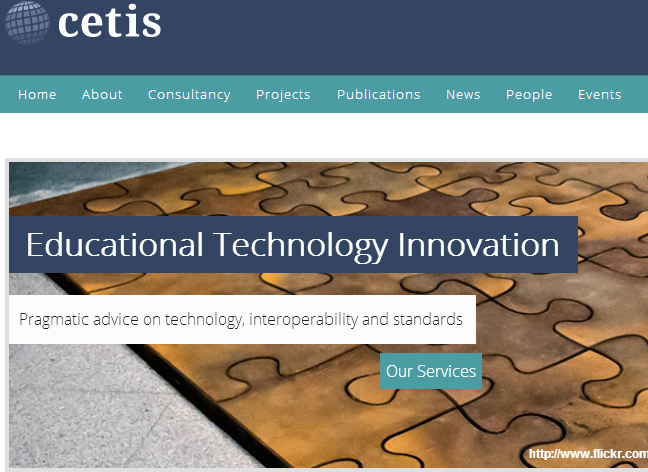 Cetis home page
