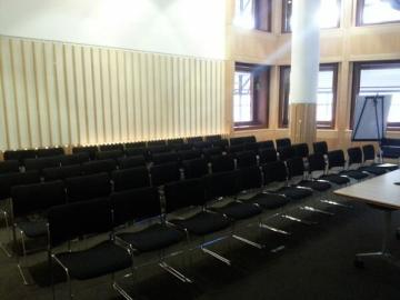 The Eliot room used for the Wikipedia workshop