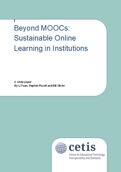 Cetis MOOC paper
