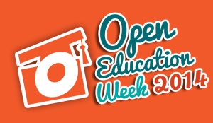 Open Education Week 2014 logo