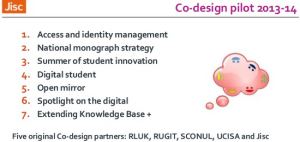 Phil Richards Cetis talk: Co-design work for 2013-14