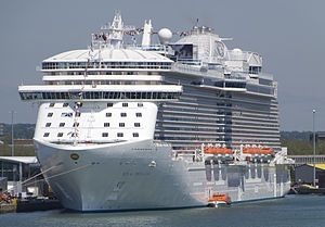 The Royal Princess (photo from Wikipedia entry)