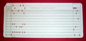 Fortran-card